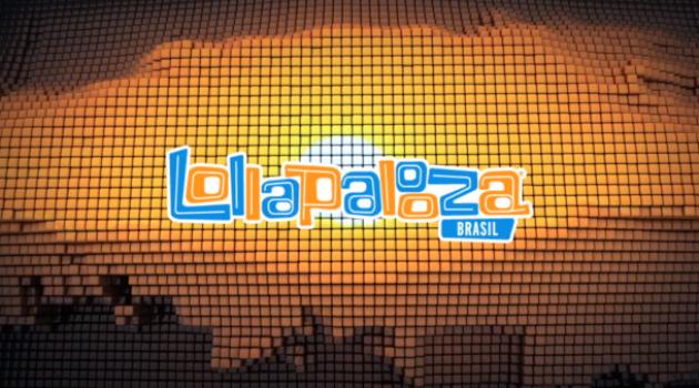 Cartel de Lollapalooza Brasil 2014
