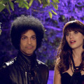 Prince y Zooey Deschanel