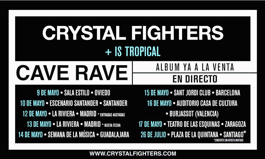 Crystal Fighters 2014