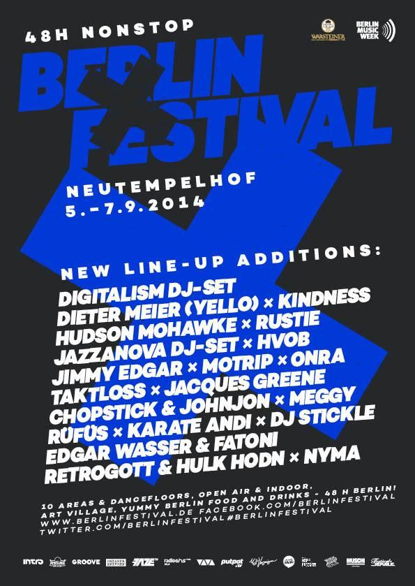 Nuevas incorporaciones - Berlin Festival 2014