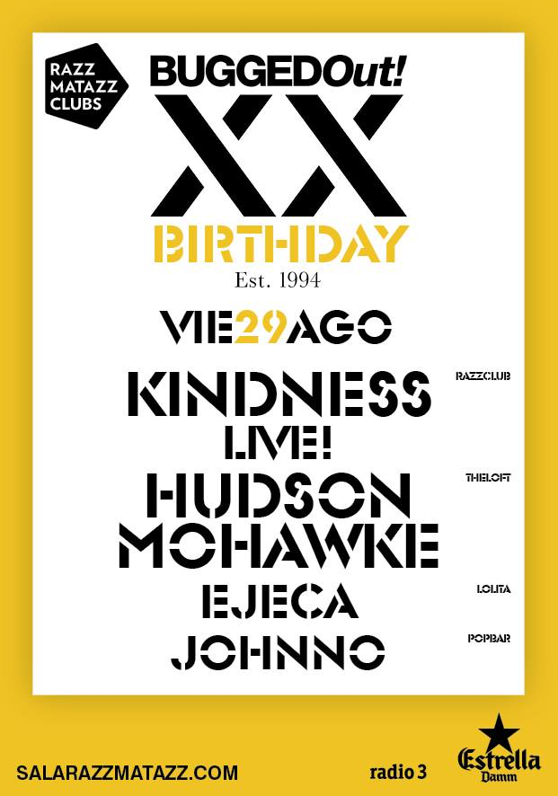 XX Aniversario Bugged Out!