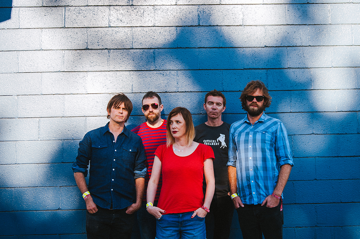 Slowdive - Fyf Fest, Sports Arena & Exposition Park - Los Angeles 23/08/14 | Photo by Gaelle Beri